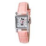 Disney Wrist Watch for Women - Minnie Mouse Square Watch