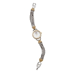 Disney Bracelet Watch for Women - Minnie Mouse Icon - Gold and Silver