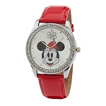 Disney Wrist Watch for Women - Minnie Mouse Crystalline Watch