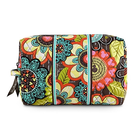 Disney Vera Bradley Bag - Mickey's Perfect Petals - Cosmetic Bag