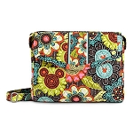 Disney Vera Bradley Bag - Mickey's Perfect Petals Tablet Hipster