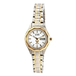 Disney Wrist Watch for Women - Citizen Mickey Eco-Drive - Duo Tone
