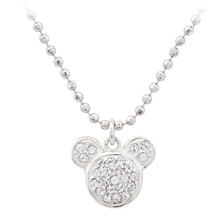 Disney Judith Jack Necklace - Mickey Mouse Icon - Swarovski Crystal