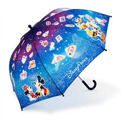 c254ae0835f40 Disney Umbrella - Mickey Mouse and Friends Umbrella for Kids - Stars