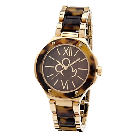 Disney Wrist Watch for Women - Mickey Mouse Tortoiseshell Link