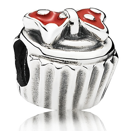 Disney Pandora Charm Minnie Mouse Cupcake