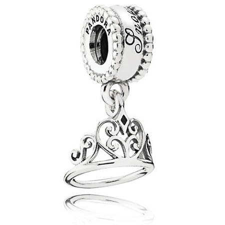4f93a3f88f396 Disney Pandora Charm - Snow White Tiara