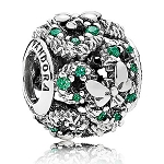 Disney Pandora Charm - Mickey Mouse Holiday Wreath