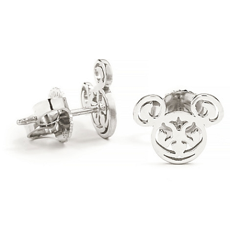 90902c4ba Add to My Lists. Disney Alex and Ani Earrings - Mickey Mouse Filigree -  Silver