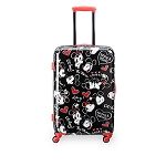 Disney Rolling Luggage - Mickey and Minnie Mouse Faces - 26