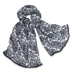 Disney Scarf - Mickey Mouse Lace Trimmed