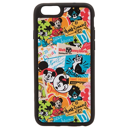 newest b487f 94a44 Disney IPhone 6 Case - Mickey Mouse and Friends Retro Collage