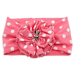 Disney Headband for Girls - Minnie Mouse Polka Dot - Pink