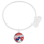 Disney Alex and Ani Bracelet - Mickey Mouse Banner - Silver