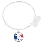 Disney Alex and Ani Bracelet - Mickey Mouse Flag - Silver