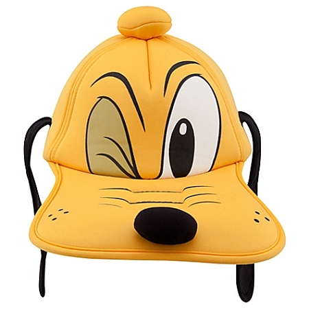 Disney Hat - Foam Cap - Sculptured Pluto