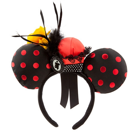 Disney Headband Hat - Minnie Mouse Ear Headband - Minnie Feather