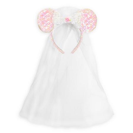 Add to My Lists. Disney Headband Hat - Veil Minnie Mouse Bride Ears fb23b07607e