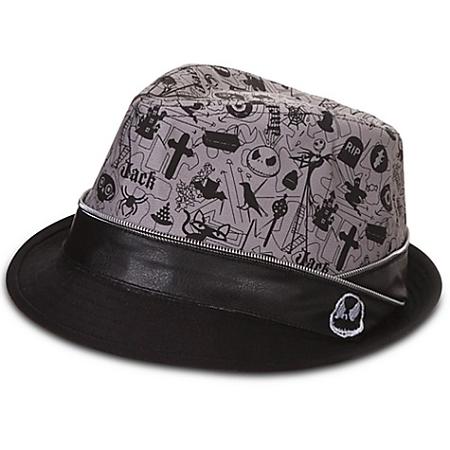 dc45b4e1b3610 Disney Hat - Jack Skellington - Fedora Hat