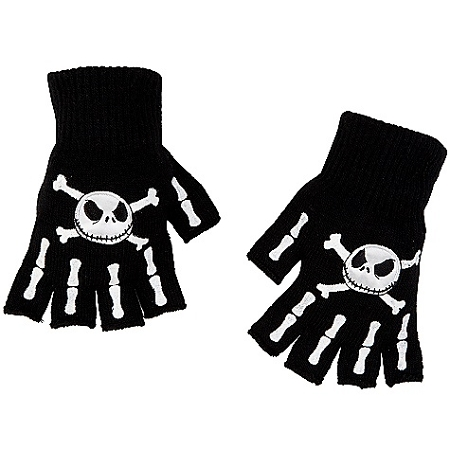 Disney Gloves - Jack Skellington Fingerless