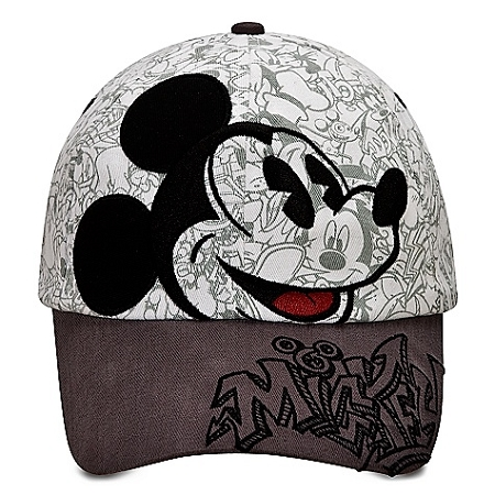 Disney Hat - Baseball Cap - Sketch Mickey Mouse