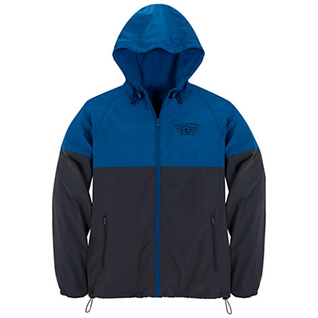 Disney Jacket for Men - Hooded Windbreaker Jacket - Blue