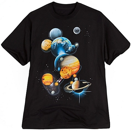 Disney Shirt for MEN - Planet Mickey Mouse