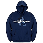 Disney Sweatshirt for ADULTS - Hooded Retro Walt Disney World Mickey Mouse Fleece
