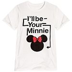 Disney Shirt for WOMEN -  I'll Be Your Minnie Tee