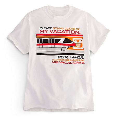 Disney Shirt for ADULTS - Monorail Please Stand Clear of My Vacation