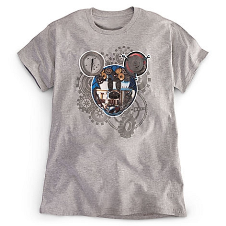 Disney Shirt for MEN - Mickey Mouse Gears - Steam Punk