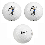 Disney Golf Ball - Mickey Mouse Nike Golf Ball Set