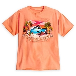 Disney Shirt for Adults - Takin' a Tiki Break Tee - Orange