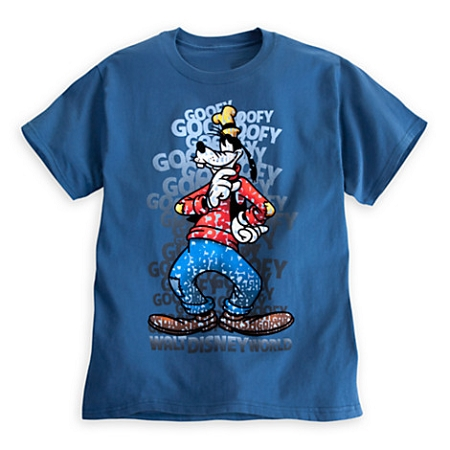 Disney Shirt for Adults - Goofy Letters Tee - Walt Disney World