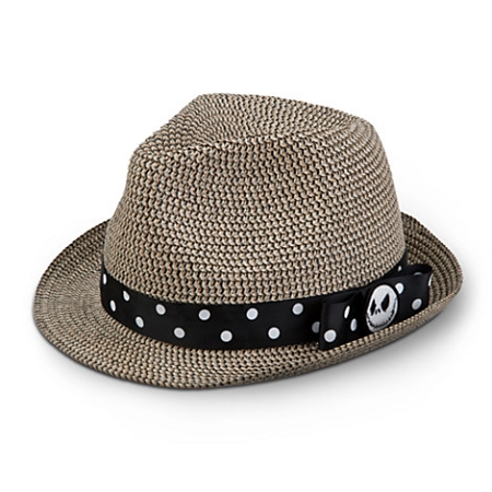 Disney Hat - Straw Hat - Jack Skellington Fedora