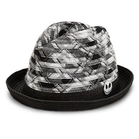 Disney Hat - Fedora Hat - Jack Skellington - Plaid