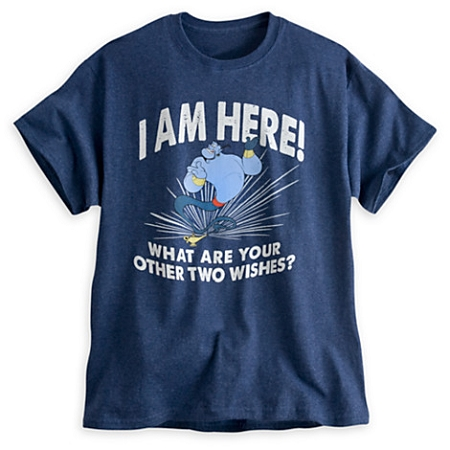 Disney Shirt for Adults - Genie - What are your other Two Wishes?