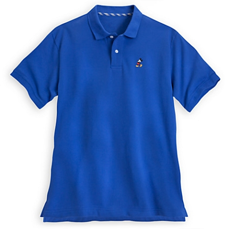 Disney Polo Shirt for Men - Classic Mickey Mouse - Royal Blue