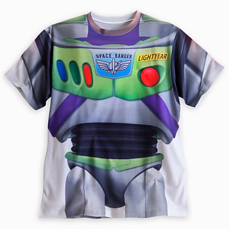 Disney Shirt for Men - Buzz Lightyear Costume Tee