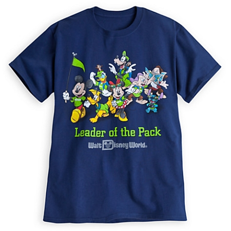 Disney Shirt for Adults - Mickey and Friends - Leader of the Pack