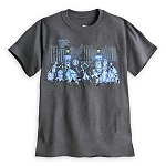 Disney Shirt for Men - The Haunted Mansion Character Tee - Grey