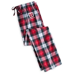 Disney Adult Lounge Pants - Holiday Mickey Mouse - Plaid