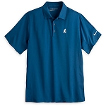 Disney Polo Shirt for Men - Nike Golf - Mickey Mouse - Two Toned Blue