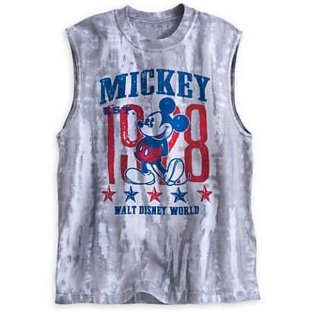 Disney Shirt for Adults - Mickey Mouse 1928 Tie-Dye Sleeveless Tee