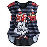 Disney Shirt for Women - Mickey and Minnie Mouse - Sheer Back