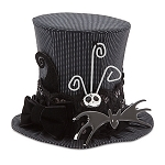 Disney Top Hat - Jack Skellington Miniature with Lace Band