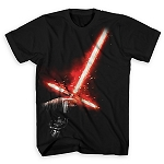 Disney Shirt for Men - Kylo Ren Lightsaber Tee - Star Wars