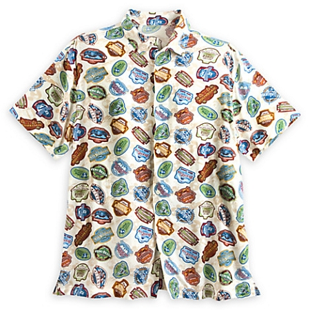 Disney Shirt for Men - Vacation Club Woven Shirt