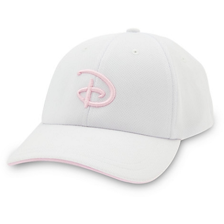 Disney Hat - Baseball Cap - Disney D Logo - Pink c6f86f468aa