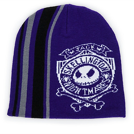 44691a4961b Add to My Lists. Disney Knit Hat for Adults - Jack Skellington Beanie ...